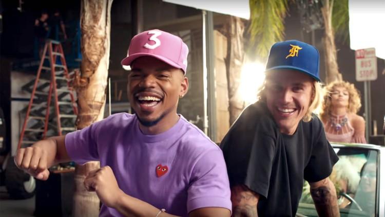 Notícia | Radio H - San Francisco - Justin Bieber y Chance The Rapper juntos